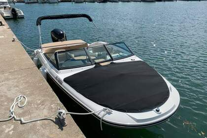 Rental Motorboat Sea Ray 190 SPX HB Le Barcarès