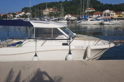 Charter Motorboat Jeanneau Merry Fisher 725 Zadar