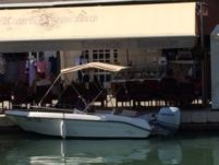 Motorboat Fisherman Tiburon 180 Open for hire