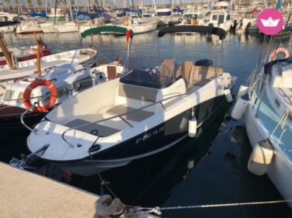 Rental Motorboat Quicksilver Activ 675 Open Girona