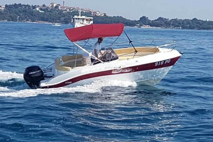 Rental Motorboat Marinello Eden 20 Funtana