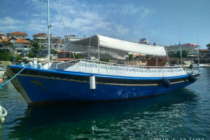 Charter Motorboat Ierissos shipping Custom made Chalkidiki