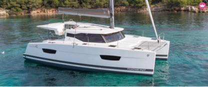 Location Catamaran Fountaine Pajot Lucia 40 Arzon