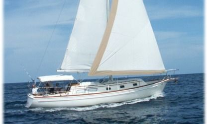 Rental Sailboat Gulfstar Sloop 37 Palm Beach