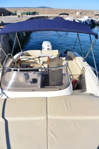 Motorboat Eolo Eolo 650 Day White Edition Leon