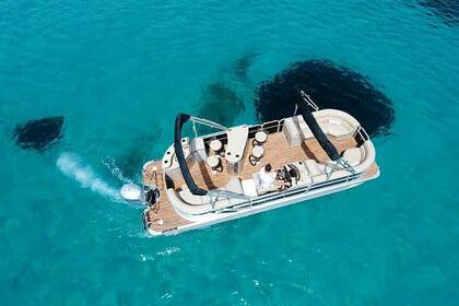 Charter Motorboat Pontoon Coach 25RE Corfu