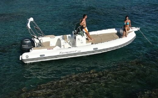 Capelli Tempest 700 in Fort-de-France Bay for hire