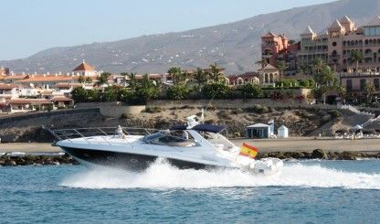 Rental Motorboat Sunseeker Porto Fino 46 Costa Adeje