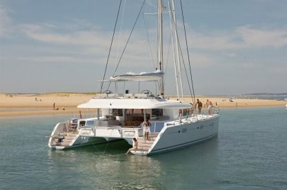 Rental Catamaran Lagoon 620 Portisco
