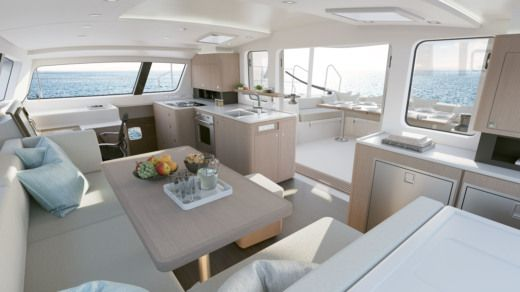 Rental catamaran in Arrondissement of Le Marin