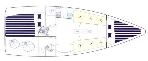 Beneteau First 27.7 in Loctudy for hire