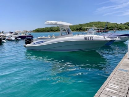 Charter Motorboat Quicksilver 720 Commander Vrsar