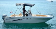 Motorboat Saver 550 Open for rental