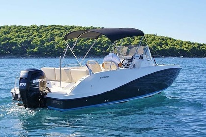 Hire Motorboat Vallibou Quicksilver Activ 675 Sundeck Excenevex