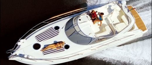 Cranchi Zaffiro 34 in Beaulieu-sur-Mer for hire