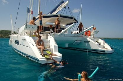 Location Catamaran Catana Catana 50 Papeete