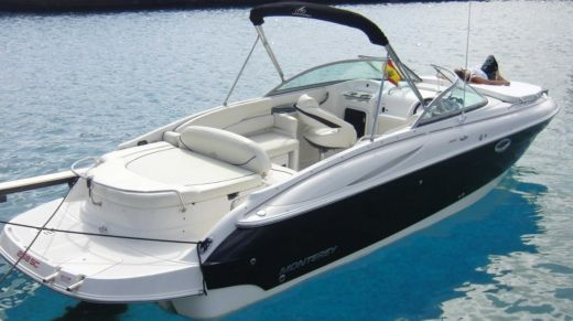 Charter motorboat in Ibiza peer-to-peer