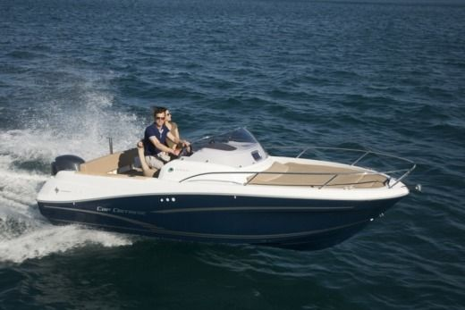 JEANNEAU Cap Camarat 6,50 WA in Zadar for hire