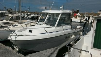 Charter Motorboat Beneteau Antares 600 Grandcamp-Maisy