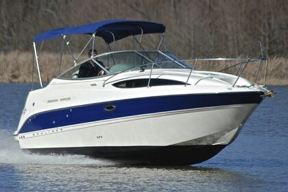 Rental Motorboat Bayliner 245 Sb Six-Fours-les-Plages