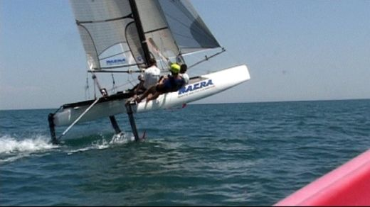 Catamaran Nacra F20 FCS for hire