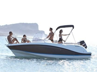 Charter Motorboat Quicksilver 605 Open Mesquer