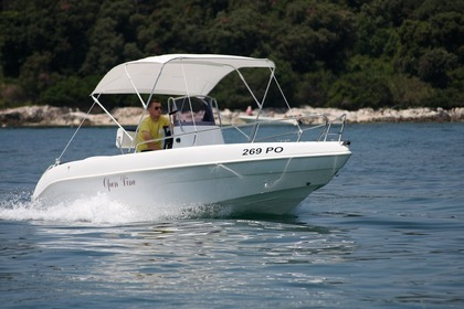 Rental Motorboat Bellingardo Sea Gost 550 Funtana