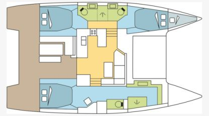 Location Catamaran Fountaine Pajot Astrea 42 O.v. With Watermaker & A/c - Plus Saint-Mandrier-sur-Mer