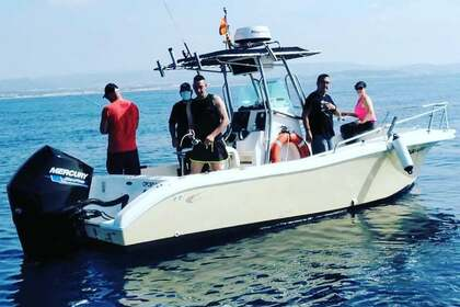 Rental Motorboat Fishing RAPTOR 240 Coma-ruga
