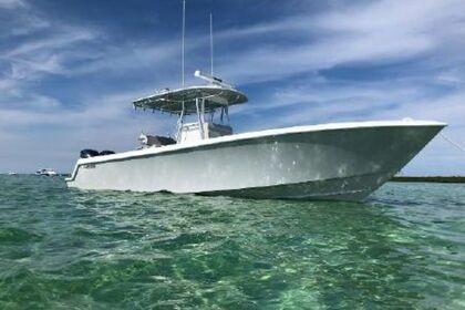 Charter Motorboat Contender 35 Road Town