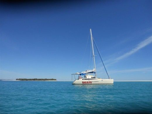 Catamaran Fountaine Pajot Antigua peer-to-peer
