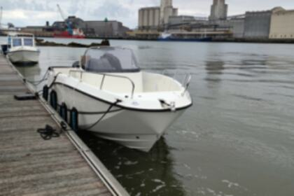 Rental Motorboat Quicksilver Activ 755 (Essence & Skipper inclus dans le tarif) Anglet