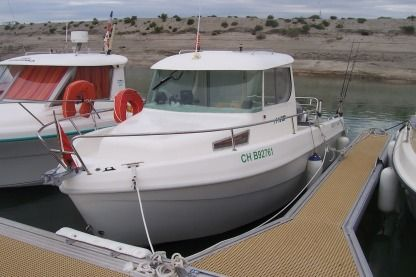 Rental Motorboat Mery Nautic 600 Portbail