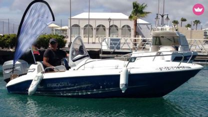 Charter Motorboat Quicksilver 410 Fish Playa Blanca