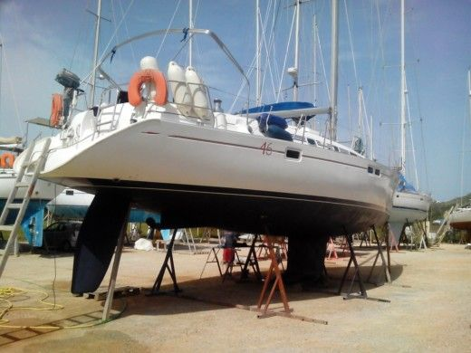 Sailboat Beneteau Oceanis 461 for hire