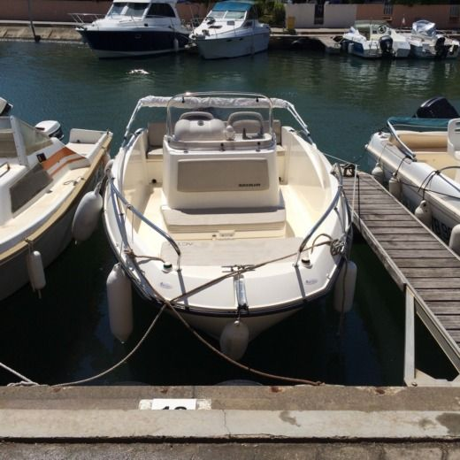 Motorboat QUICKSYLVER ACTIV 535 OPEN for hire