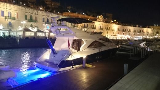 Motorboot SUNSEEKER Manhattan 50 zu vermieten