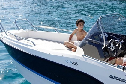 Hire Motorboat QUICKSILVER 605 SunDesk Vodice