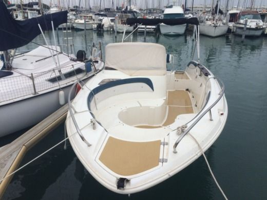 Motorboat SLEPSK COMMANDER 600 for hire
