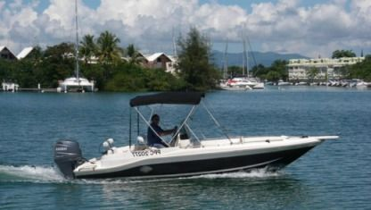 Rental Motorboat Lenco Marine Cuda 21 Sainte Rose