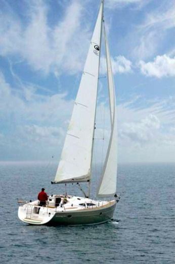 Sailboat Elan 384 Impression for rental
