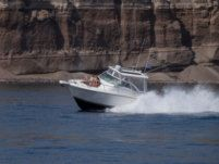 Rampage 30 Offshore in Santorini for hire