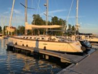 Rental sailboat in Turku