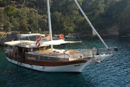 Hire Sailing yacht Custom Made Wooden Ketch Göcek