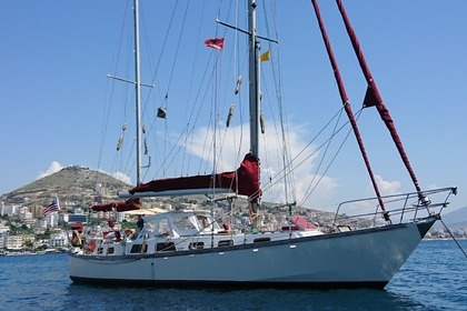 Rental Sailboat Sail away Bruce Roberts 43 Sarandë
