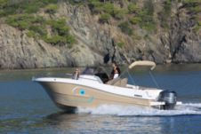 Pacific Craft Open 750 in L'Estartit