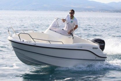 Rental Motorboat Quicksilver Quicksilver 455 Chalkidiki