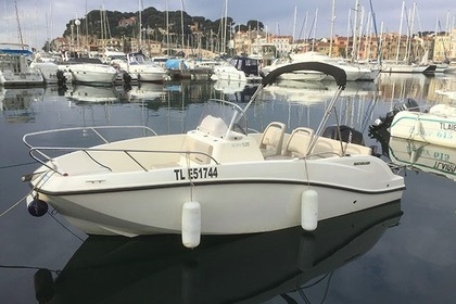 Charter Motorboat Quicksilver Open 5m30 Sanary-sur-Mer
