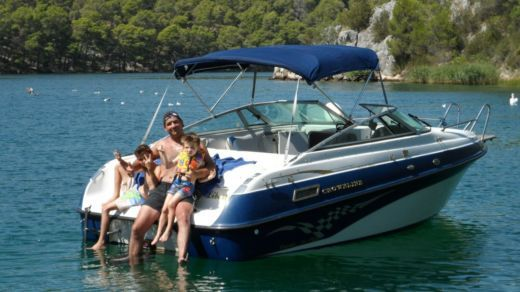 Rental Motorboat Crownline 205 Ccr Tisno