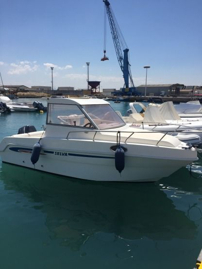 Charter Motorboat Selva Cabin Fisch 620 Trapani